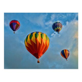 Plainville Balloons Postcard