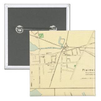 Plainville, Warehouse Pt, Windsor Pinback Button