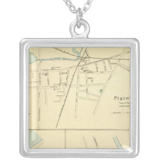 Plainville, Warehouse Pt, Windsor Silver Plated Necklace