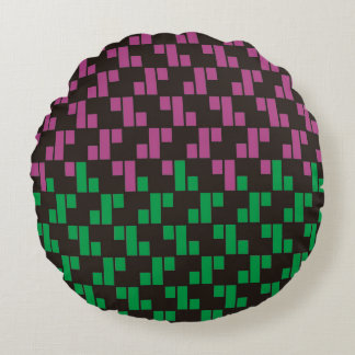 "Plait Pattern Round Pillow 16"""
