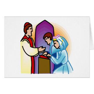 Plan 40 del boda tarjeta