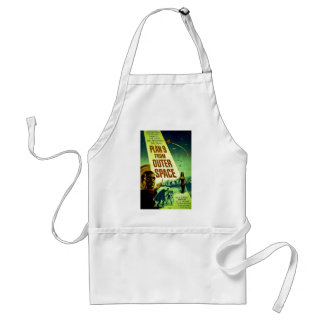 Plan 9 From Outer Space Adult Apron