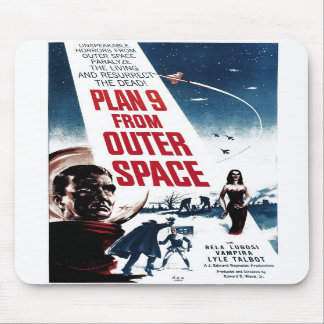 """Plan 9 From Outer Space"" Mousepad"