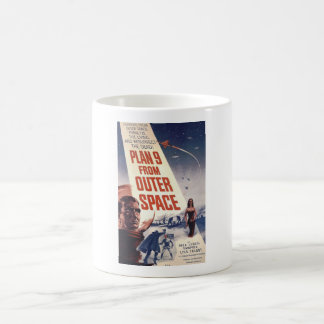 Plan 9 From Outer Space Movie Poster Coffee Mug