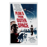 """""""Plan 9 From Outer Space"""" Poster"""