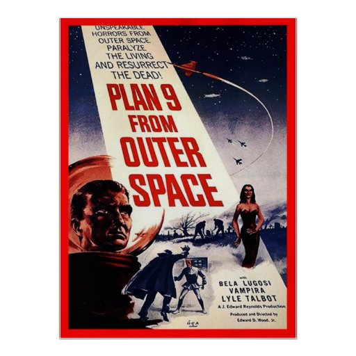 Plan 9 From Outer Space Print