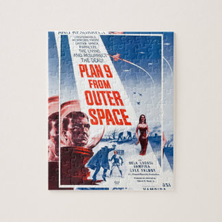 Plan 9 From Outer Space Jigsaw Puzzles