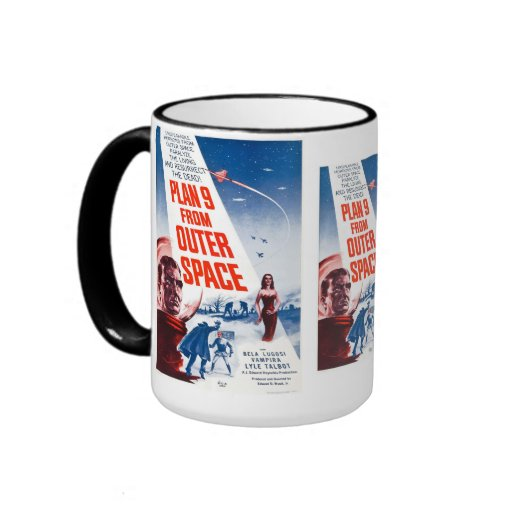 Plan 9 From Outer Space Ringer Coffee Mug
