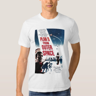 """""""Plan 9 From Outer Space"""" Tee Shirt"""