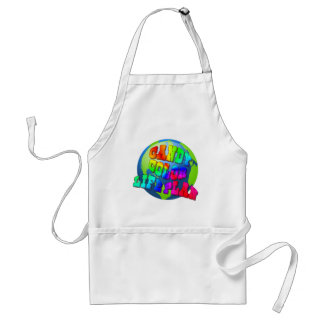 Plan a Candy Color Life Adult Apron