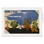 Plan A Farm Garden 1941 WPA Card