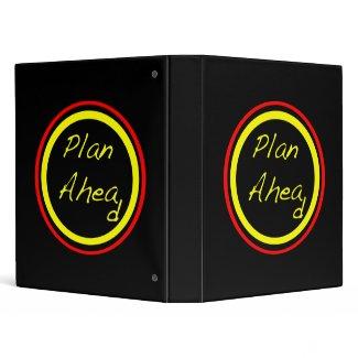 Plan Ahead binder