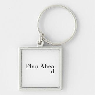 Plan Ahead Keychain