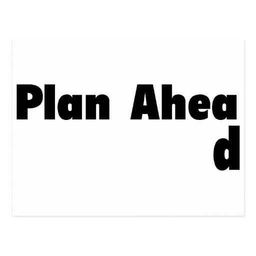 Plan Ahead Post Cards