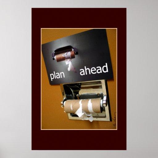 Plan Ahead! Poster