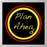 Plan Ahead Poster