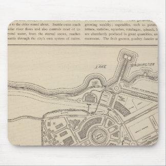 Plan, Alaska Yukon Pacific Exposition, Seattle Mouse Pad