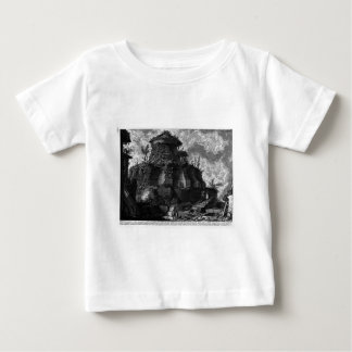 Plan, and elevation cross-section of the Tomb Baby T-Shirt