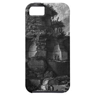 Plan, and elevation cross-section of the Tomb iPhone SE/5/5s Case