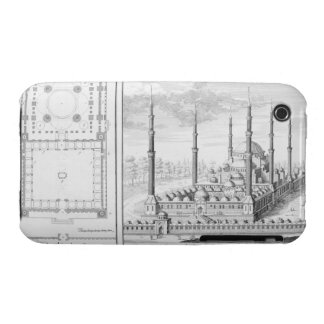 Plan and View of the Blue Mosque (1609-16), built Case-Mate iPhone 3 Case