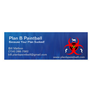 Plan B mini Business Card