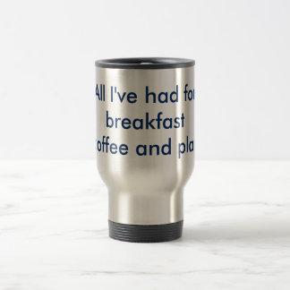 Plan B 15 Oz Stainless Steel Travel Mug