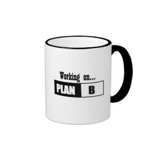 Plan B Ringer Coffee Mug