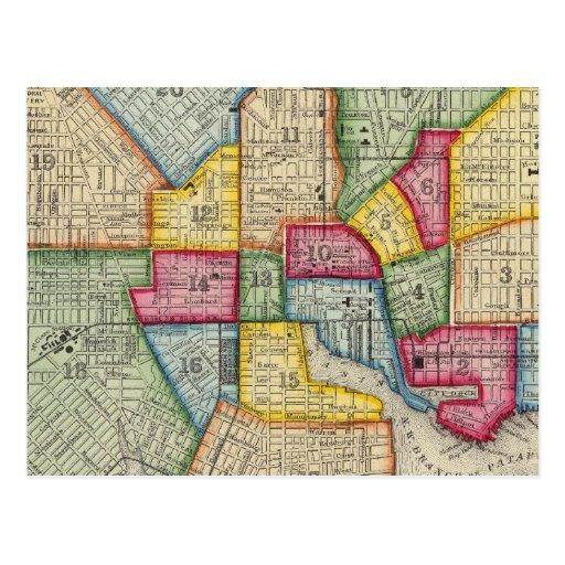 Plan de Baltimore Postales