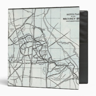 Plan de bosquejo del arroyo de Caballo de alquiler