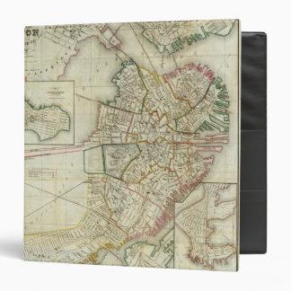 """Plan de Boston y de Charleston Carpeta 1 1/2"""""""