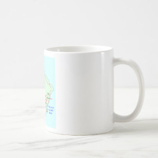 Plan de Cartago Taza De Café