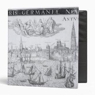Plan de ciudad de Amberes 1549