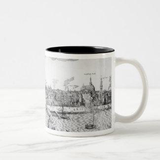 Plan de ciudad de Amberes, 1549 Tazas De Café