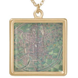 Plan de ciudad de Bruselas, de la 'tierra de Civit Colgante Cuadrado