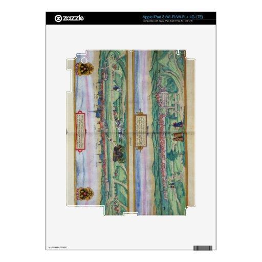 Plan de ciudad de Viena y de Buda, de 'Civitates O iPad 3 Skins