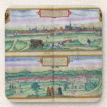 Plan de ciudad de Viena y de Buda, de 'Civitates O Posavaso