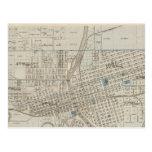 Plan de Des Moines, el condado de Polk, Iowa Postal