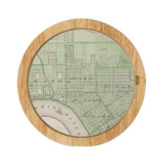 Plan de Evansville, Vanderburgh Co