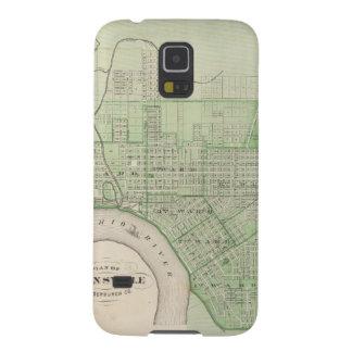 Plan de Evansville, Vanderburgh Co Carcasa Para Galaxy S5