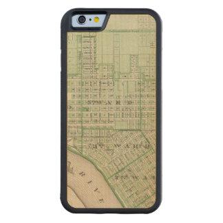 Plan de Evansville, Vanderburgh Co Funda De iPhone 6 Bumper Arce