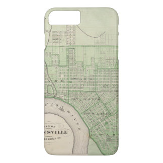 Plan de Evansville, Vanderburgh Co Funda iPhone 7 Plus