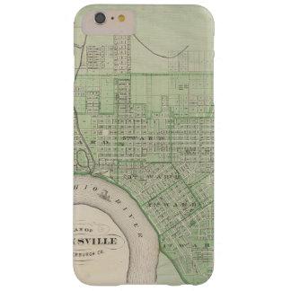 Plan de Evansville, Vanderburgh Co Funda Para iPhone 6 Plus Barely There