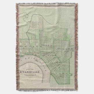 Plan de Evansville, Vanderburgh Co Manta