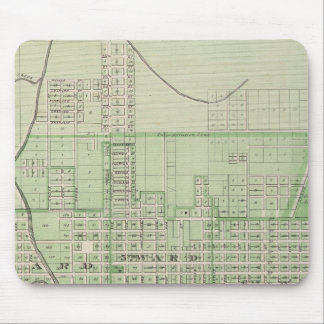 Plan de Evansville, Vanderburgh Co Mouse Pad