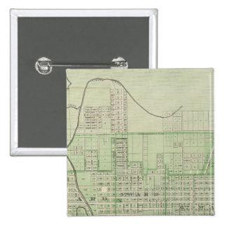 Plan de Evansville, Vanderburgh Co Pin Cuadrado