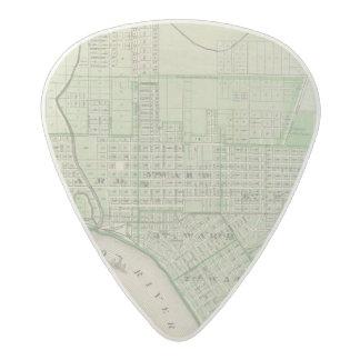 Plan de Evansville, Vanderburgh Co Plectro De Acetal