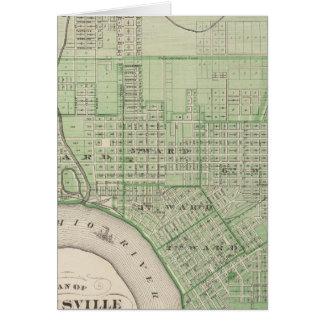 Plan de Evansville, Vanderburgh Co Tarjeta De Felicitación