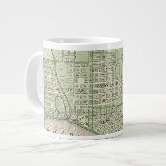 Plan de Evansville, Vanderburgh Co Taza Grande