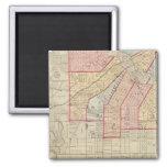 Plan de la ciudad de Minneapolis y de la vecindad Imán