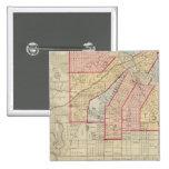 Plan de la ciudad de Minneapolis y de la vecindad Pins